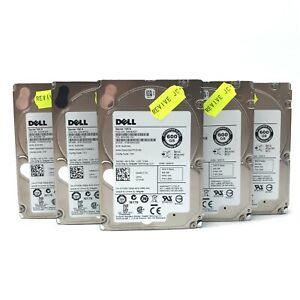 "Job Lot 5x 2.5"" Dell Enterprise Class 600GB SAS Hard Drives - ST600MM0006"
