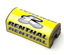 Renthal Fat Bar MX Enduro Handlebar Bar Pad - Yellow