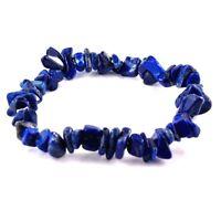 Lapislazuli Armband Trommelstein Edelsteine - Splitter flexibel Lapis Lazuli