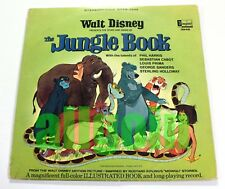 """12"""" LP Various Artists THE JUNGLE BOOK 1967 Disneyland Records USA #3948 Stereo"""