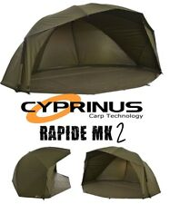 "Cyprinus Rapide MK2 55"" 20,000HH Carp Fishing Brolly Umbrella Shelter Bivvy"