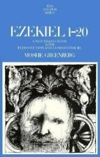 Ezekiel, 1-20: A New Translation With Introduction and Commentary Anchor Bible,