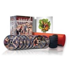 Paul Katami 4X4 System - 10 DVDs, Stretch Rope & Foam Roller New Sealed Exercise