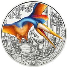 3 Euro Tiertalermünze Österreich 2020 Flugsaurier - Arambourgiania