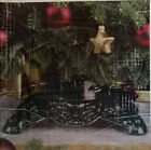 Vintage Holiday Living Heavy Cast Iron Christmas Tree Stand w/ Box