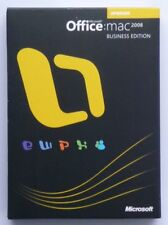 Microsoft Office Mac 2008 Business - Upgrade - deutsch -