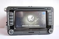 VW RNS510 SSD LED 2017 V14 Navigation Golf Passat CC Tiguan Polo Jetta Touran T5