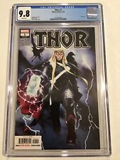 Thor 1 CGC 9.8  9.8 Donny Cates Oliver Copiel Main VHTF 🔥 Series Main Cover