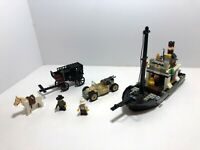 LEGO Adventures LOT: Boat only 5976 + Carriage only 6765 + Adv car 2995? Rare.