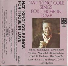 Nat King Cole - Sings For Those In Love 1992 Cassette Pop