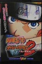 JAPAN Naruto RPG 2: Chidori VS Rasengan Official Guide Book