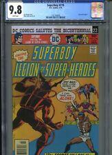 Superboy #218 CGC 9.8 (1976) Legion of Super-Heroes Highest Grade Only 3 @ 9.8