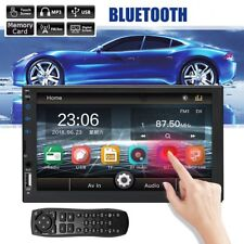 7'' Inches Double 2 DIN Car Radio Stereo MP5 Player FM 1080P Android 7.1