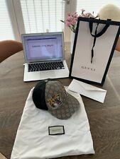 Gucci hat 'Tiger Print GG Supreme baseball hat'