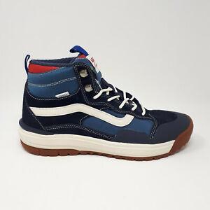 NEW Vans Ultrarange Exo Hi MTE Skate Shoe Sneaker Boot Navy Men's Size 8.5-12 US