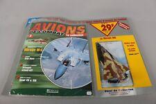 Zf1535 Atlas 1/100 Avion Combat Metal militaire M1235 Mirage IIIC Magazine N° 2