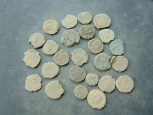 24 pieces to be cleaned Roman Follis LOT!
