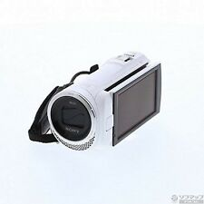 SONY HDR-CX485 video camera 32GB optical 30 times white Handycam JAPAN USED