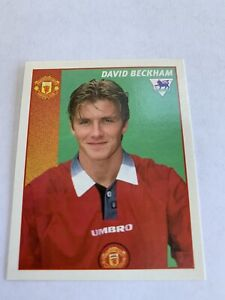 Merlin Premier league 97 - David Beckham Rookie Sticker