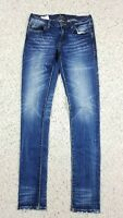 NEW Remix by Rock Revival Women's Skinny Distressed Wash Blue Jeans Size 26 NWT