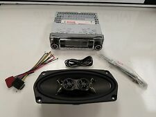 Mercedes Benz 108 Chassis Single Dash Speaker Bluetooth/CD/AUX Upgrade System