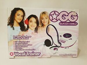 OGG Glitzzi Girls - Personal CD Player With Voice Trainer & Microphone VINTAGE