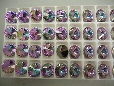 16 new preciosa rivoli stones,14mm vitrail light
