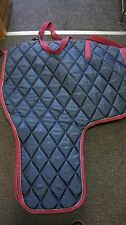 Heavy Weight Winter Horse Stable Show Blanket Rug Quilted BLUE