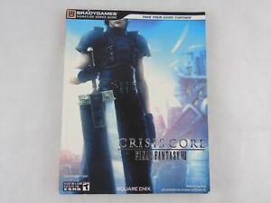 Final Fantasy VII FF7 Crisis Core Strategy Guide