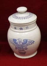 """METLOX Poppytrail china EAGLE PROVINCIAL pattern Coffee Canister & Lid - 9"""""""
