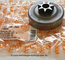 "1121-640-2004 STIHL Kettenrad .325/"" 7 Zähne 024 026 MS 240 260 270 271 280 291"