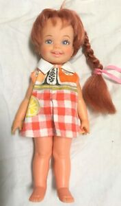 VINTAGE IDEAL TOYS LITTLE GIRL CRISSY RED GROW HAIR DOLL