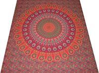 Copriletto INDIA Attaccatura di parete Batik Tenda FODERA MANDALA 1.17