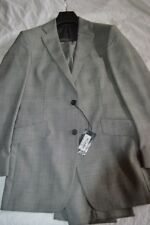 $1.4k NWT Thomas Pink London 38 eu48 R Gray Prince of Wales ck s110's wool suit