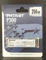 PATRIOT P300 256 GB M.2 2280 PCIe Gen 3x4 NVMe 1.3 SDD