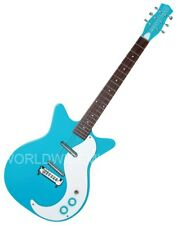 Danelectro DC59M-CBL Dano 59 Mod. Double Cutaway Electric Guitar BABY BLUE