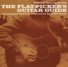 Jerry Silverman - Flat-Picker's Guitar Guide: An Advanced Instructio [New CD]