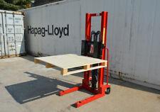 2 Ton Manual Hydraulic Pump Walkie Stacker Forklift Reach Pallet
