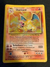 RARE 1999 Charizard Holo 4/102 Base Set Pokemon Card - Spanish