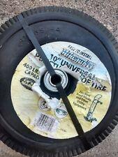 """10"""" Flat Free Universal Puncture Proof Tire Milwaukee Hand Trucks 400 Capacity"""