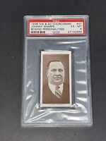 1938 Churchman #47 Johnny Sharpe Boxing Personalities PSA 6 EX-MT