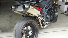 Triumph Speed Triple R SMALL FENDER ELIMINATOR TAIL TIDY FREE LED