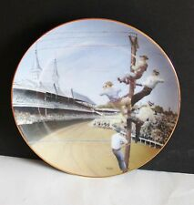"""Reserve Seats for the Derby Telephone Pioneers America 1988 Plate 8.5"""" FREE SH"""