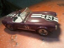Rare Vintage 1/24 Acclaimed Driver/Fabricator Carrol Shelby's Revell Ac Cobra Ro