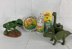 Dinosaur Taco Holders Plates Cups Straws Dino Party Fiesta