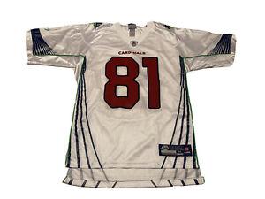Reebok - Anquan Boldin #81 Arizona Cardinals Super Bowl On Field NFL Jersey M