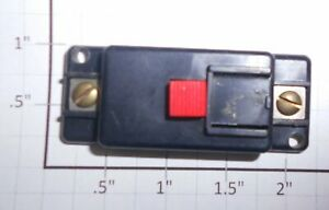 Lionel 190-1X Red Push-Button Switch Accessory Controller