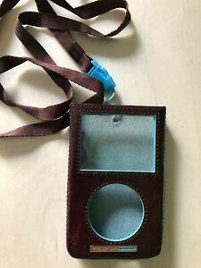 Custodia MP3 Piquadro In Pelle Colore Marrone