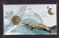 $1.60 Stamp PNC Perth $1 Coin 2011 Bush Babies Dingo