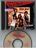 Sanyo Heat Beat '89 BON JOVI, CINDERELLA, L.A.GUNS JAPAN PROMO-ONLY CD KA-61CD
